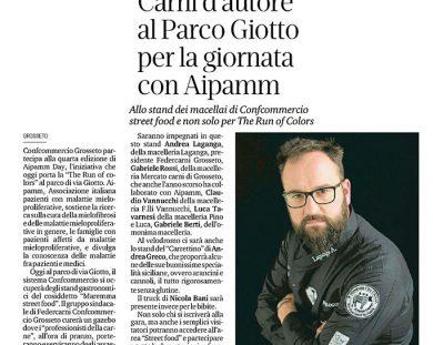 Carni d'autore al Parco Giotto di Grosseto per la giornata con Aipamm