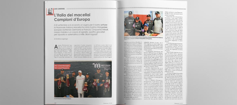 LA NAZIONALE ITALIANA DEI MACELLAI: CAMPIONI D'EUROPA!